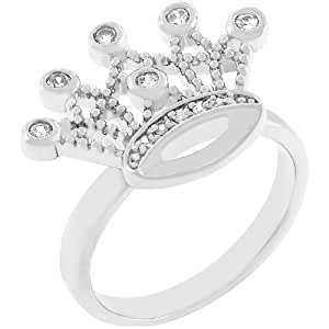 Amazon.com: CZ Crown Ring: Jewelry