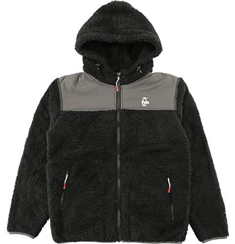 [チャムス] フリースジャケット Fleece Elmo Jacket Ch04-1123 Black M
