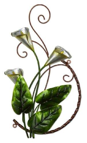 DecoFlair Metal Wall Decor Cali lily
