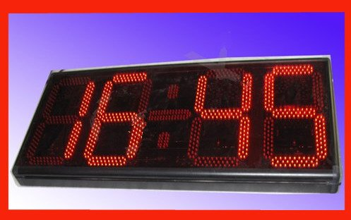 gowe-big-4064-cm-4-digitos-rojo-alto-brillo-semi-exterior-digital-reloj-de-pared