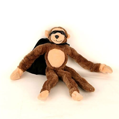 "Measures 11"" From Head To Toe Unstretched - Slingshot Flying Screaming Monkey Toy Flingshot - 1"