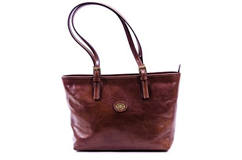 The Bridge Borsa Messenger 04902501-14 Marrone