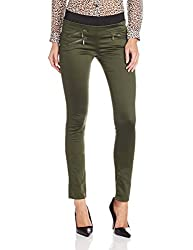 Lee Womens Skinny Pants (LETR2487_Green_30)