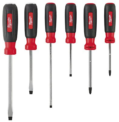 Milwaukee Electric Or Electrical Tool 48-22-2006 6Pc Screwdriver Set - Quantity 5