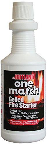 Rutland One Match Gelled Fire Starter, 32 Fluid