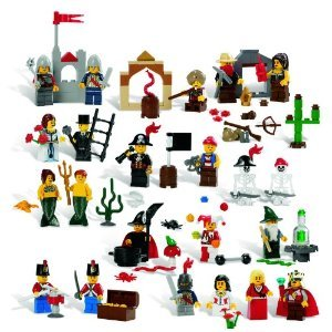 Toy / Game Lego Education Fairytale And Historic Minifigures Set 779349 (227 Pieces. 22 Different Figures)