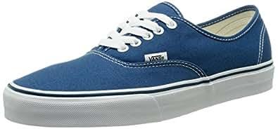 Vans Authentic Unisex-Erwachsene Sneakers, Unisex-Erwachsene Sneakers, Blau (Navy), EU 34.5 (2.5 UK)