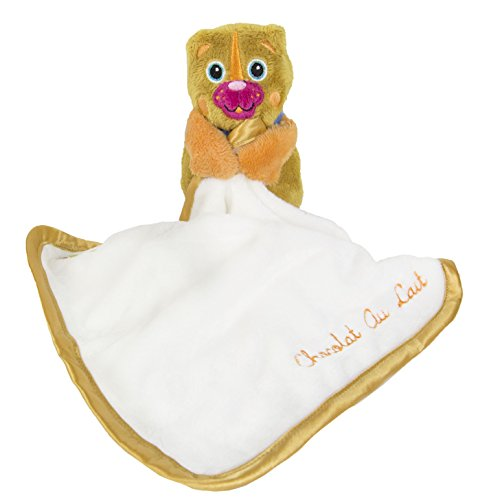 Oops Cuddle Blanket, Bear, 8 Count