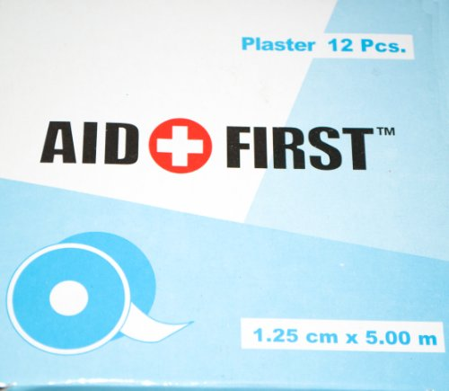 Pack Of 12 First Aid Plaster Tape