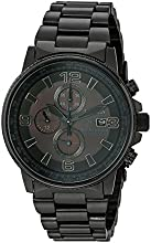 Citizen Men's Eco-Drive Nighthawk Watch Black CA0295-58E