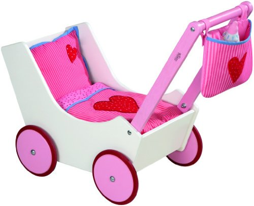 HABA Limited Edition German Doll Pram/Stroller