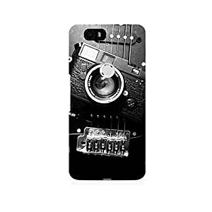 TAZindia Printed Hard Back Case Cover For Huawei Honor 6P
