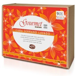 Cuba Serrano Lavado Gourmet Coffee Capsule,50 Count Package,compatible Lavazza Espresso Point System
