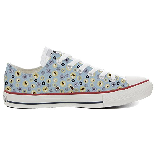 CONVERSE personnalisé All Star Low Sneaker unisex (produit artisanal) Api & Fiori