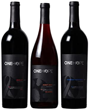 ONEHOPE California Reds Mixed Pack 3 x 750 mL
