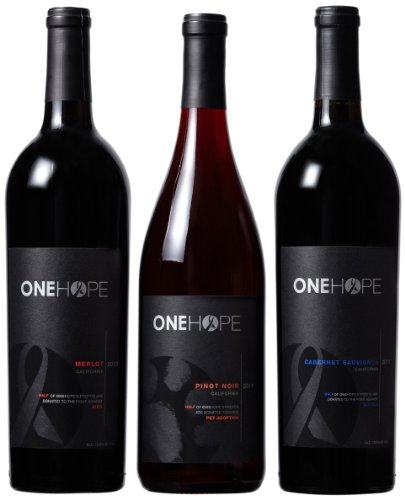 ONEHOPE  California Reds Mixed Pack, 3 x 750 mL