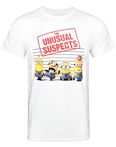 Trademark-Despicable-Me-2-Unusual-Suspects-camiseta-Hombre