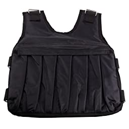 57lbs Adjustable Weighted Vest Workout Weight Vest Training Jacket Exercise Fitness Boxing Training