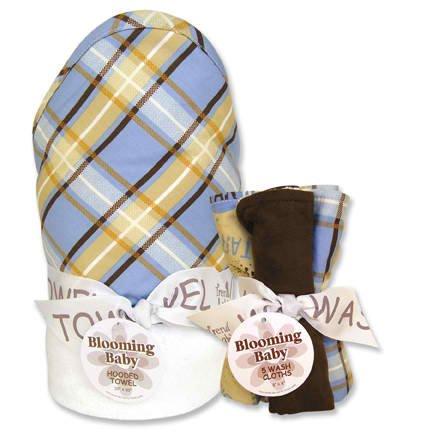Rockstar Hooded Towel & 5 Piece Wash Cloth Set front-977261
