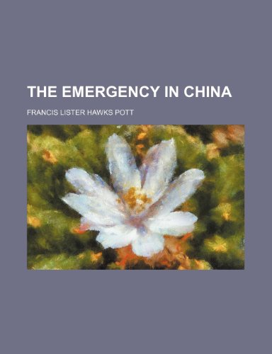 The Emergency in China