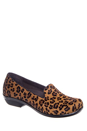Olivia Hair Calf Clog Shoes