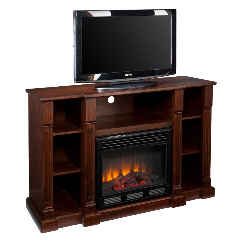SEI AMZ6839E Kendall Electric Media Fireplace, Espresso