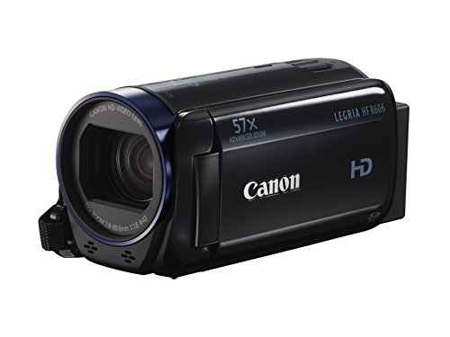 Canon Legria HF R606 HD Camcorder with 32x Optical Zoom - Black