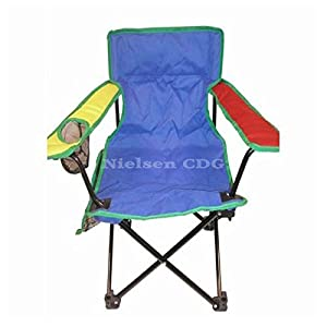 Child's Folding Camping Chair for kids multicoloured