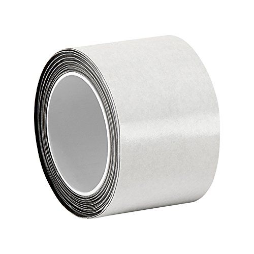 "Tapecase 1.5-5-3M Cn3490 Gray Non-Woven Conductive Fabric Tape, 5 Yd Length, 1.5"" Width, Roll"