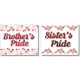 Planet Jashn Brothers Pride And Sisters Pride Badges