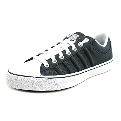 K-Swiss Adcourt Women Black/White/Black Canvas Sneakers, US 9