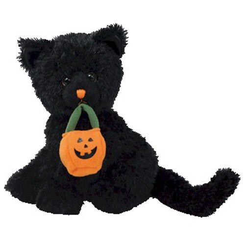 Ty Beanie Babies Jinxed - Black Cat (BBOM October 2007)