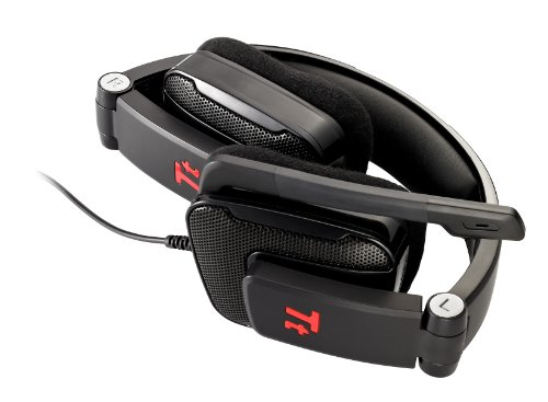 Thermaltake HT-SHK002ECBL eSports SHOCK Gaming Headset (Diamond Black)