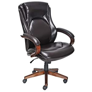 lane bonded leather executive office chair