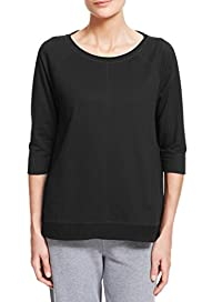 M&S Collection Raglan Sleeve Sweat Top [T51-0781-S]