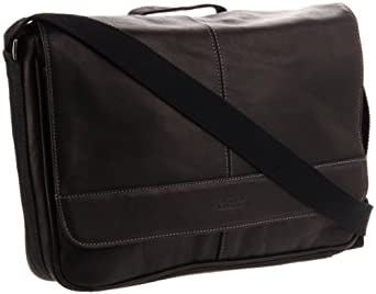Kenneth Cole Risky Business Messenger Bag, Black, One Size