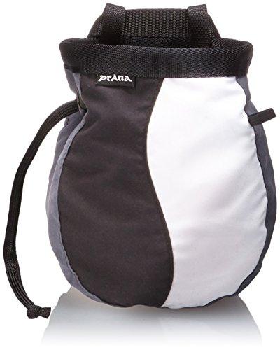 prAna Living Geo Chalk Bag with Belt, One Size, Pewter