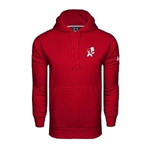 Alabama A&M Under Armour Cardinal Performance Sweats Team Hood