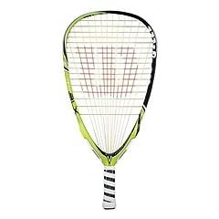 Buy Wilson Ninja BLX Racquetball Racquet (3 5 8-Inch Grip, Super Small) by Wilson