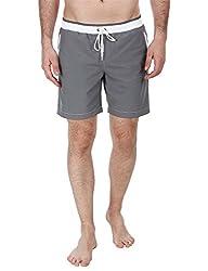 Zobello Mens Swim Shorts (41002D_Grey_Small)