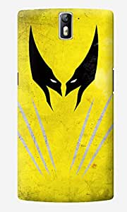 The Fappy Store Wolverine Designer Printed Hard Back Case Cover for One Plus One