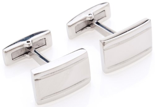 Fine polished, with highest quality made of solid, surgical stainless steel setting for the everlasting shine. These cufflinks look absolutely stunning, weighted perfectly and are certainly only for those special occasions. Quality Stays gives a 5 year warranty on these cufflinks.