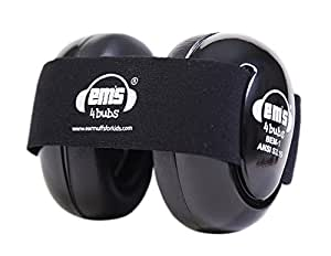 em 39 s 4 bubs baby earmuffs casque anti bruit pour b b noir instruments de musique. Black Bedroom Furniture Sets. Home Design Ideas