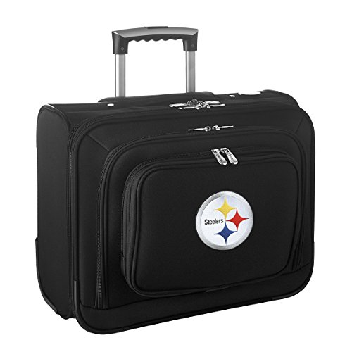 nfl-pittsburgh-steelers-denco-sports-equipaje-3556-cm-laptop-trasnochada-negro