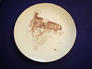 Laurelwood 1983 Siberian Husky Plate