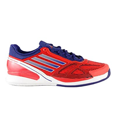 Buy Adidas CC Adizero Feather II Tennis Shoes - Red Blue (Mens) by adidas