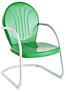 amazon com crosley furniture griffith metal chair