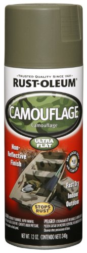 Rust-Oleum Automotive 248664 12-Ounce Camouflage Spray, Olive (Olive Drab Spray Paint compare prices)
