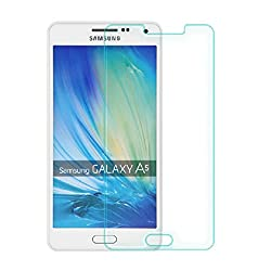 PrixCracker 2.5D Curved Edge 9H Hardness Premium Tempered Glass For Samsung Galaxy A5 (2016 Edition)