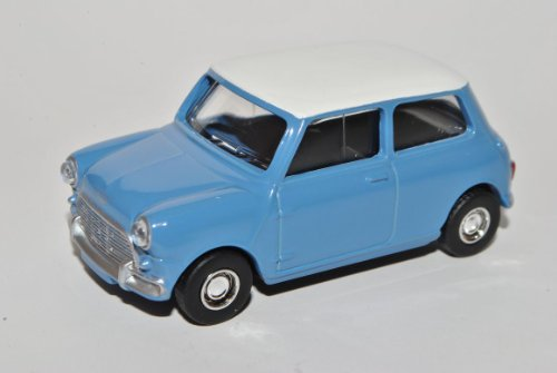 Mini Cooper Ur Modell Blau 1959-2000 1/64 Norev Modell Auto